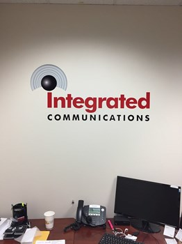 Wall Graphics for Integrated Communications in Raleigh NC