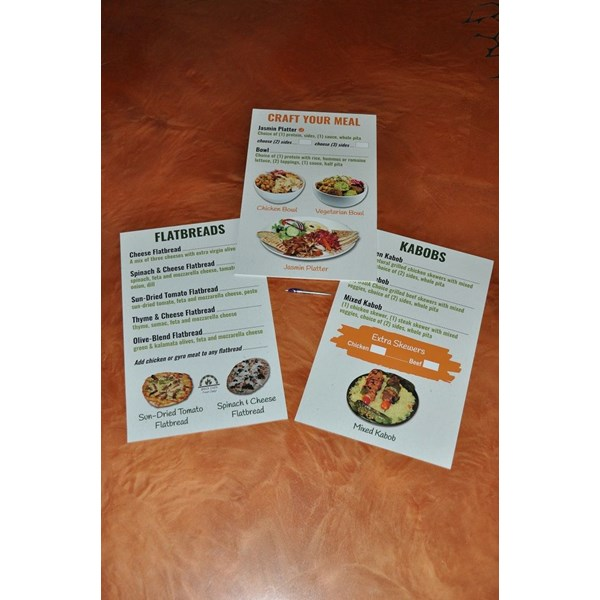 Menu Signs & Price List Signage
