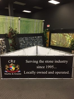 Interior Banner for CRS Marble and Granite in Raleigh NC