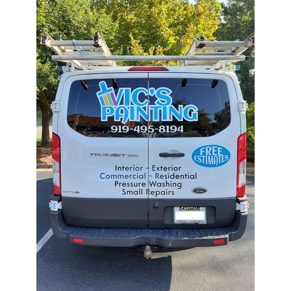 Vehicle Decals & Lettering