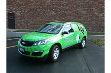 Full wrap on SUV for Consumers Credit Union.  Lake County, IL